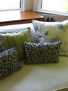 Badgers Island Sewing Colorful Custom Upholstery Pillows Cushions